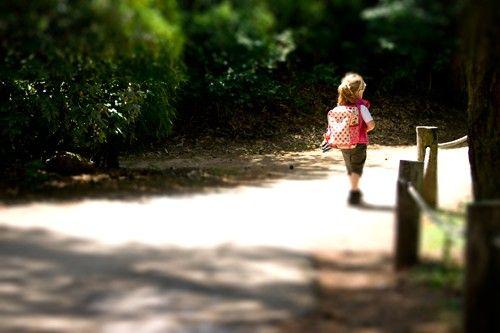 Wandelaarster