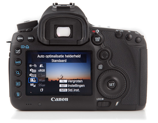 Canon 5D mark III - back