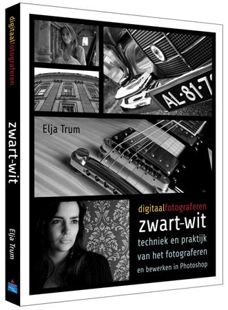 Conceptomslag Zwart-wit fotografie boek