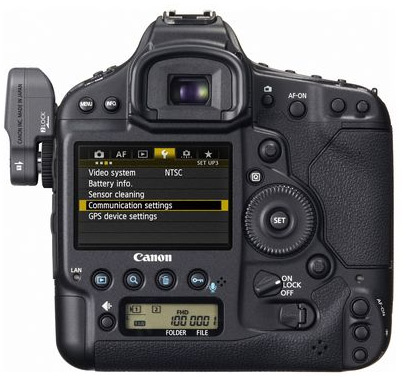 Canon 1D X with WIFI module