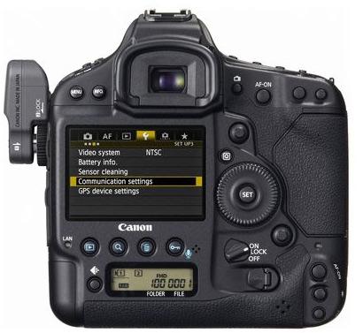 Canon 1D X - achterkant