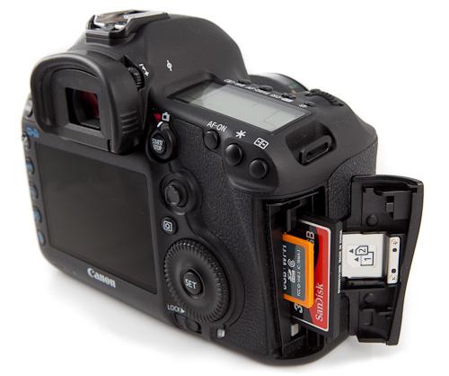 Canon 5D mark III - slots