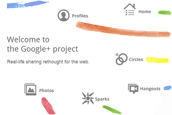 Google Plus Project - screenshot