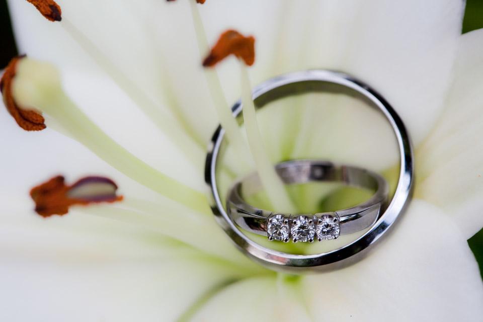 Wedding rings Tom and Ylona