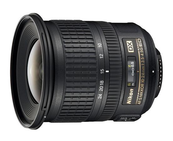 Nikkor 10-24mm f/3.5-4.5 AF-S ED DX