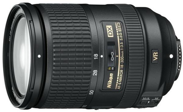 Nikkor 18-300mm f/3.5-5.6G AF-S DX ED VR