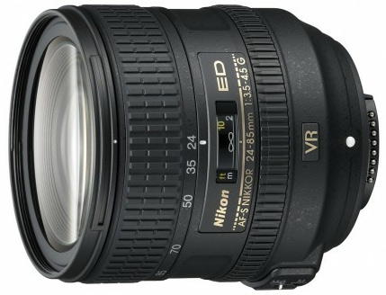 Nikkor 24-85mm f/3.5-4.5G AF-S ED VR