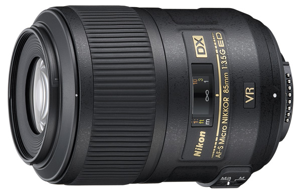 Nikkor 85mm f/3.5 G AF-S DX Micro