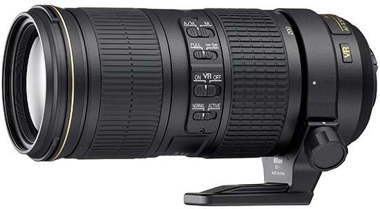 Nikkor 70-200mm f/4G AF-S ED VR