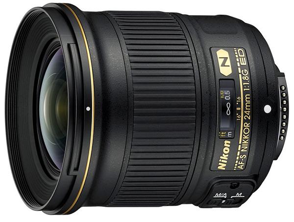 Nikkor 24mm f/1.8G ED AF-S
