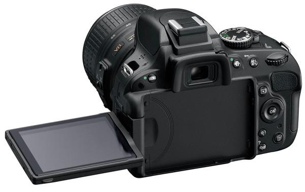 Nikon D5100 - back