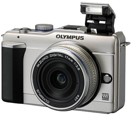 Olympus Pen E-PL1 flitser
