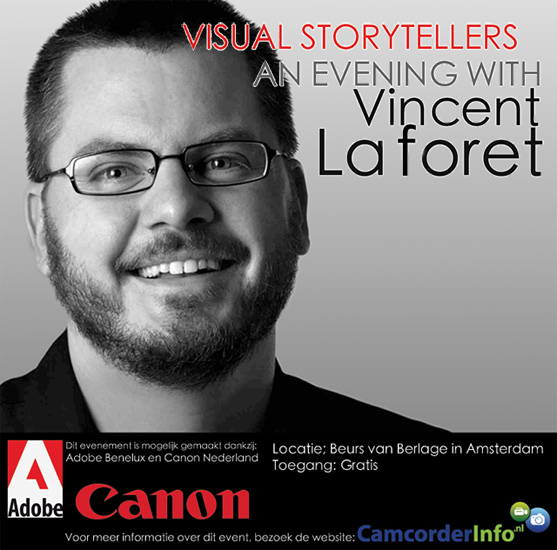 Visual Storytelling; an evening with Vincent Laforet