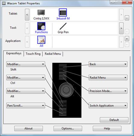 eerste indruk van de wacom intuos4 photofacts
