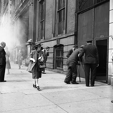 Vivian Maier - straatgezicht in Chicago