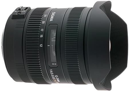 Sigma 12-24mm f/4-5.6 EX DG HSM II