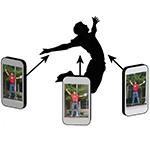 Bullet time video's maken met CamSwarm app