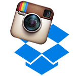 Instagram foto's opslaan in Dropbox