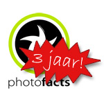 Photofacts bestaat 3 jaar!