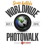 Aanstaande zaterdag: Scott Kelby World Wide Photowalk