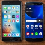 Samsung Galaxy S7 Edge versus iPhone 6 Plus