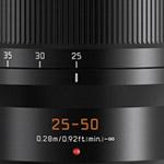Panasonic introduceert nieuwe Leica DG VARIO-SUMMILUX 25-50mm lens
