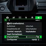Ken jij het menu van jouw camera?