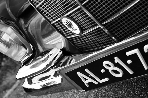 Detail van een auto