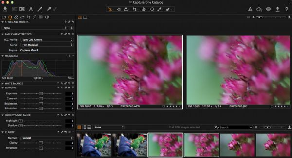 Capture one screen