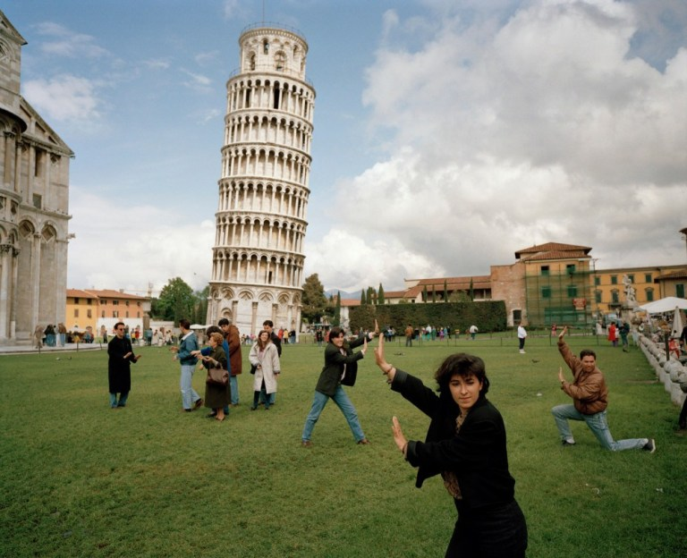 © Martin Parr. The Leaning Tower of Pisa, 1990.