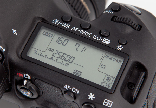 5d mk3 top screen