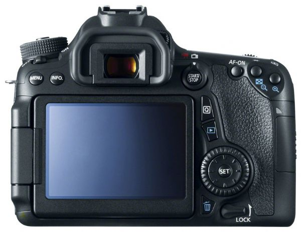 Canon 70d back