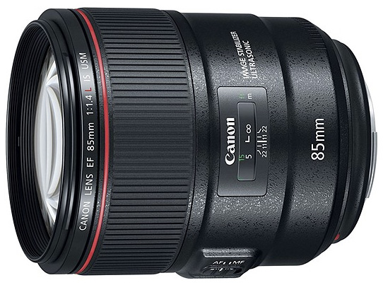 Canon 85mm f14 is