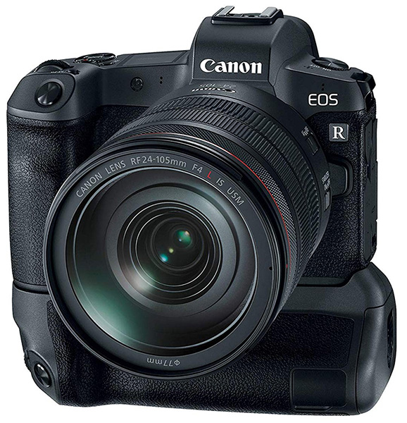Canon eos r battery grip