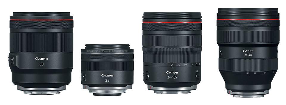 Canon RF objectieven