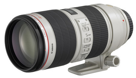 Canon 70-200mm f/2.8 L IS mark II