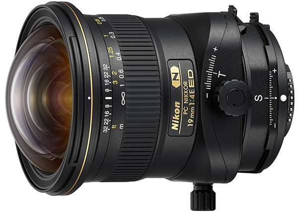 Nikkor 19mm f4 tilt shift