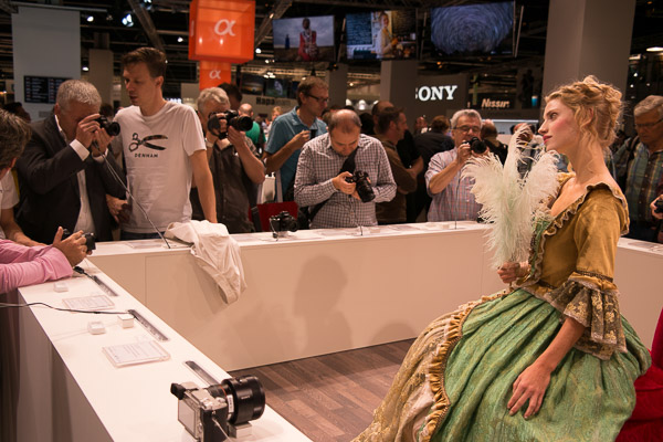 Photokina sony stand