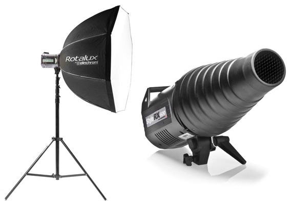 Softbox en Snoot