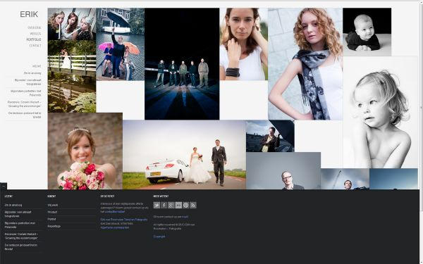 Screenshot website erikvanrosmalen