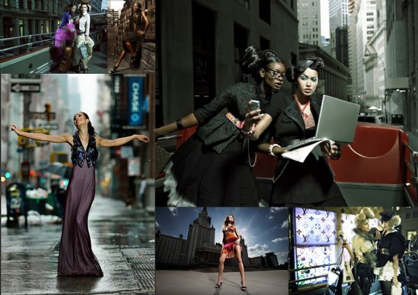 Moodboard New York Fahsionshoot