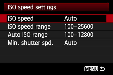 5dmarkIII iso menu  hero