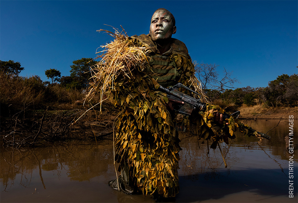 Brent Stirton Getty Images