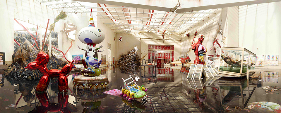 David LaChapelle Seismic Shift©David LaChapelle