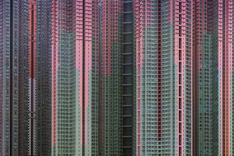 Michael Wolf, Architecture of Density, Hong Kong (2003 2014). © Michael Wolf 2018