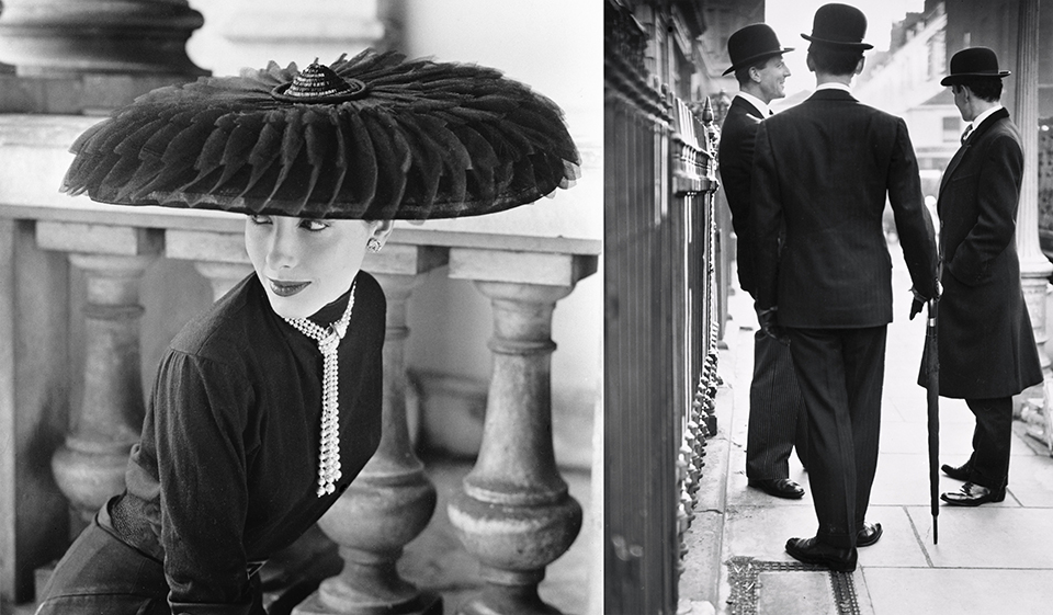 Norman Parkinson   Legroux Soeurs Hat, 1952   Courtesy Eduard Planting Gallery