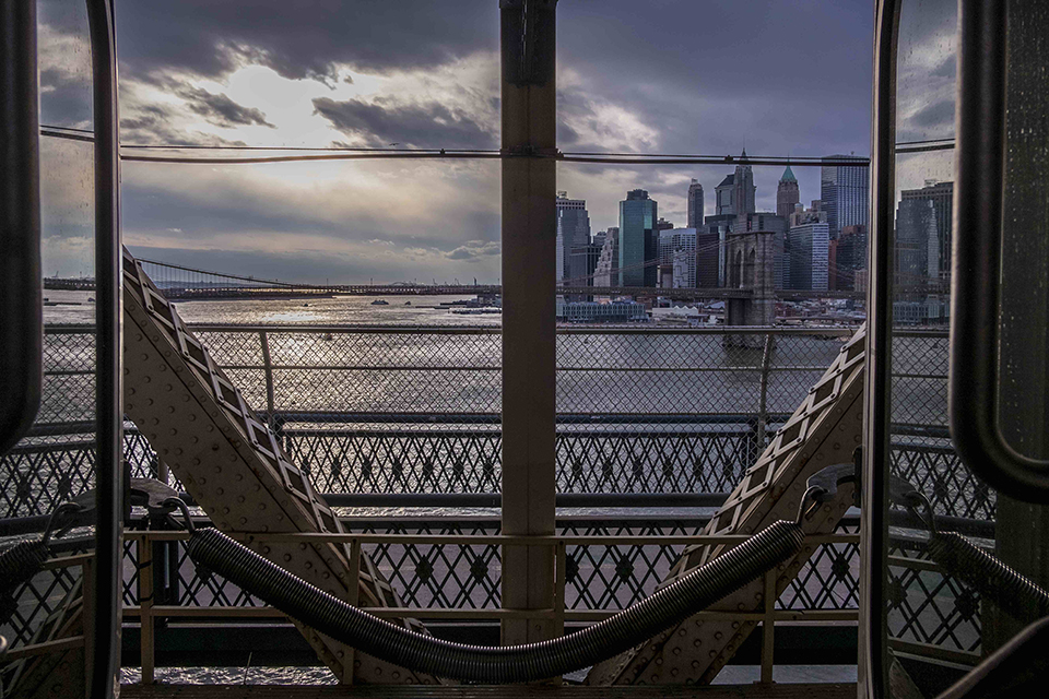 Richard Koek - Manhattan Bridge. Courtesy: Eduard Planting Gallery