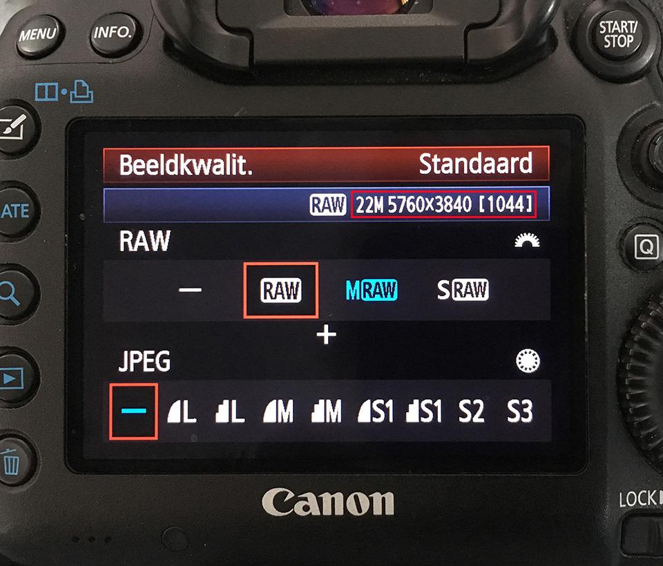 Aantal pixels canon eos 5d mark3
