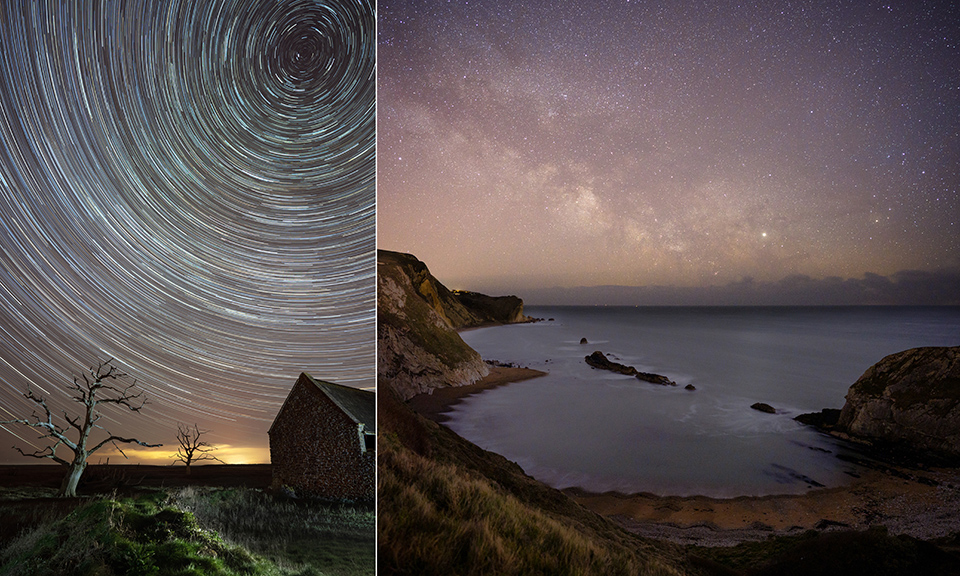 Andrew Whyte - star trails milky way