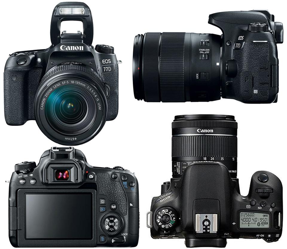 Preview: Canon EOS 77D, 800D en M6 - Photofacts
